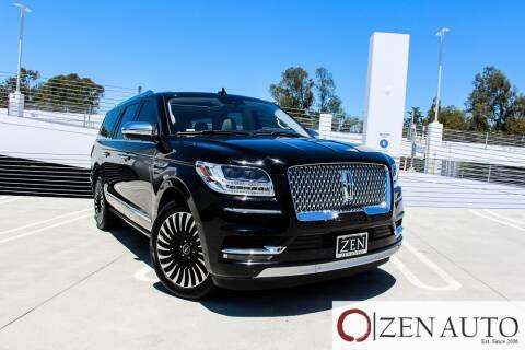 2018 Lincoln Navigator L for sale at Zen Auto Sales in Sacramento CA