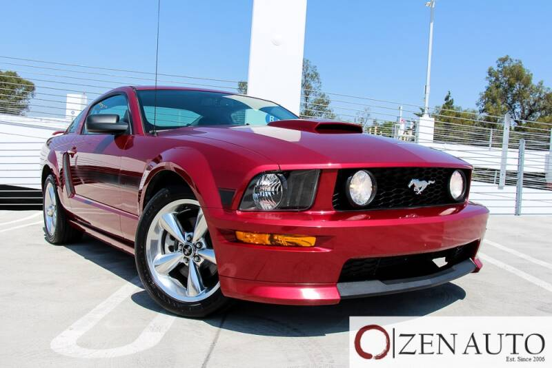 2007 Ford Mustang for sale at Zen Auto Sales in Sacramento CA