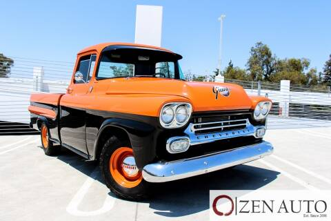 1958 Chevrolet Apache for sale at Zen Auto Sales in Sacramento CA