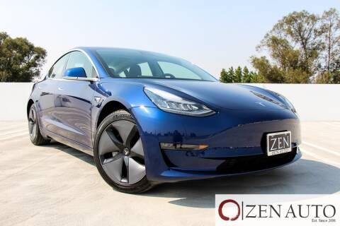 2019 Tesla Model 3 for sale at Zen Auto Sales in Sacramento CA