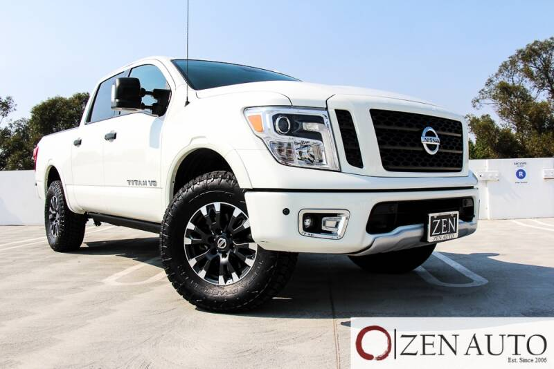 2018 Nissan Titan for sale at Zen Auto Sales in Sacramento CA
