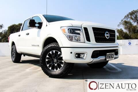 2018 Nissan Titan for sale at Zen Auto Sales in Sacramento CA
