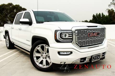 2018 GMC Sierra 1500 for sale at Zen Auto Sales in Sacramento CA