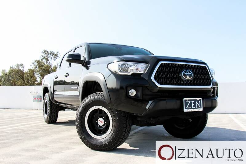 2018 Toyota Tacoma for sale at Zen Auto Sales in Sacramento CA