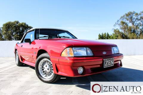 1988 Ford Mustang for sale at Zen Auto Sales in Sacramento CA