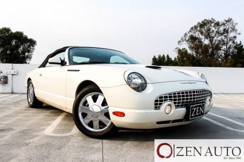 2002 Ford Thunderbird for sale at Zen Auto Sales in Sacramento CA