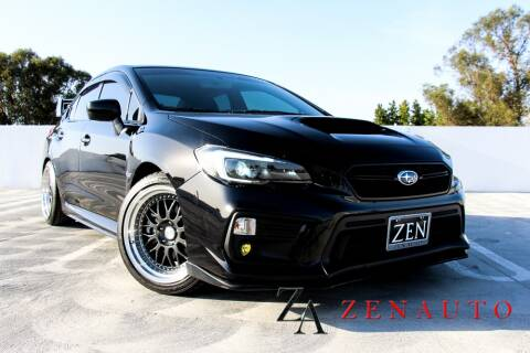 2019 Subaru WRX for sale at Zen Auto Sales in Sacramento CA