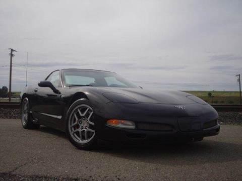 2003 Chevrolet Corvette for sale at Zen Auto Sales in Sacramento CA