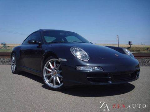 2007 Porsche 911 for sale at Zen Auto Sales in Sacramento CA