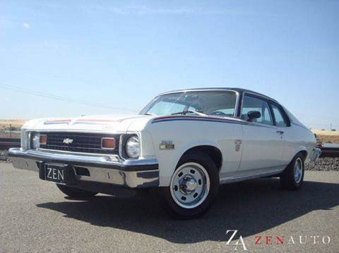 1974 Chevrolet Nova for sale at Zen Auto Sales in Sacramento CA