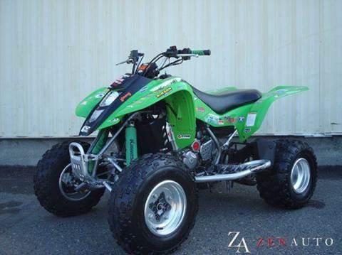 2003 Kawasaki KFX 400 398cc ATV for sale at Zen Auto Sales in Sacramento CA