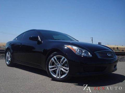 2008 Infiniti G37 for sale at Zen Auto Sales in Sacramento CA