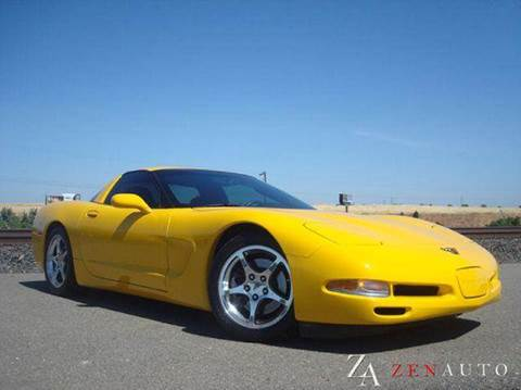 2004 Chevrolet Corvette for sale at Zen Auto Sales in Sacramento CA