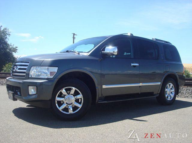 2006 infiniti qx56 qx56 4x4 tech pkg in sacramento ca zen auto sales. Black Bedroom Furniture Sets. Home Design Ideas