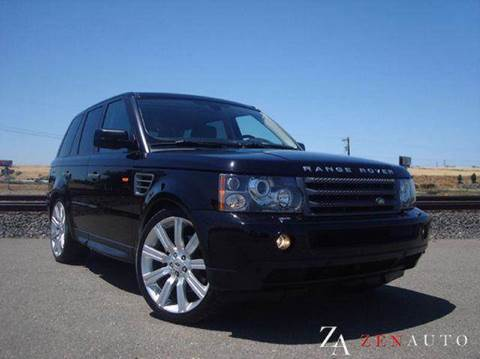 2006 Land Rover Range Rover Sport for sale at Zen Auto Sales in Sacramento CA