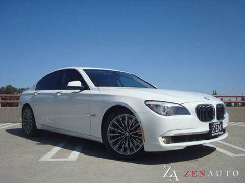 2009 BMW 7 Series for sale at Zen Auto Sales in Sacramento CA