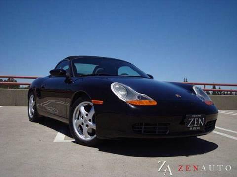 1999 Porsche Boxster for sale at Zen Auto Sales in Sacramento CA