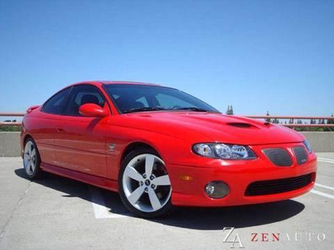 2005 Pontiac GTO for sale at Zen Auto Sales in Sacramento CA