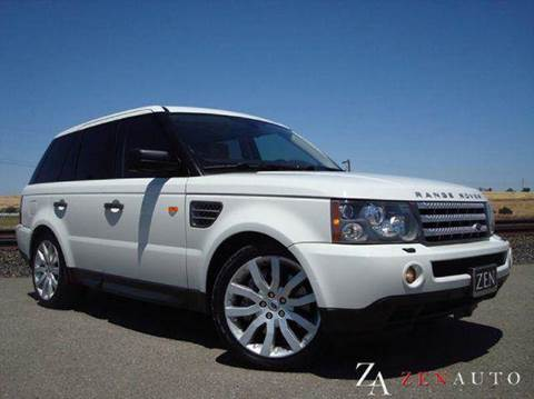 2008 Land Rover Range Rover Sport for sale at Zen Auto Sales in Sacramento CA