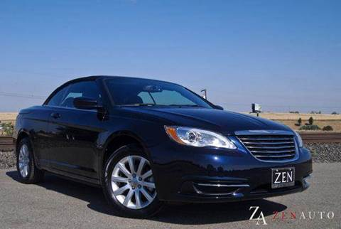 2011 Chrysler 200 for sale at Zen Auto Sales in Sacramento CA
