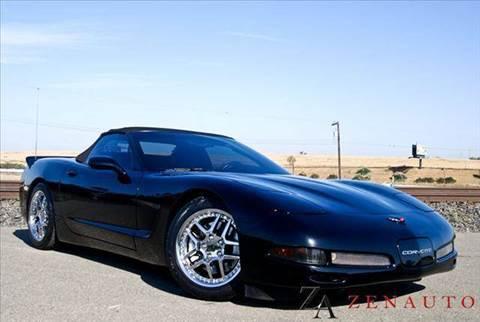 2001 Chevrolet Corvette for sale at Zen Auto Sales in Sacramento CA