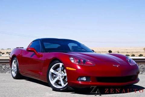 2008 Chevrolet Corvette for sale at Zen Auto Sales in Sacramento CA