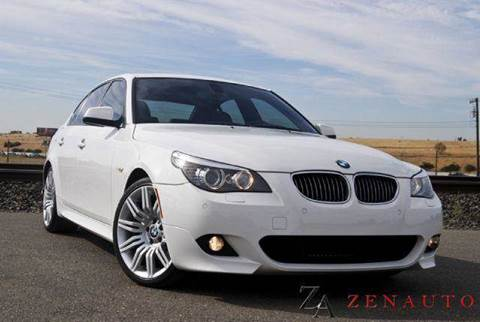 2010 BMW 5 Series for sale at Zen Auto Sales in Sacramento CA