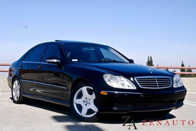 2002 Mercedes-Benz S-Class for sale at Zen Auto Sales in Sacramento CA