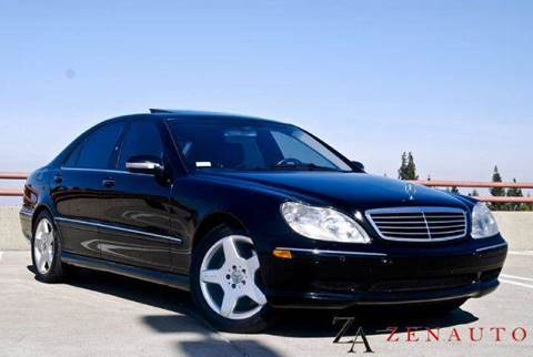 2002 Mercedes-Benz S-Class for sale at Zen Auto Sales in Sacramento CA