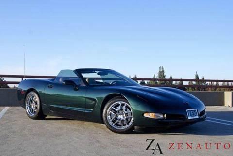 2000 Chevrolet Corvette for sale at Zen Auto Sales in Sacramento CA