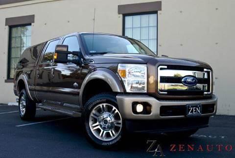 2011 Ford F-350 for sale at Zen Auto Sales in Sacramento CA