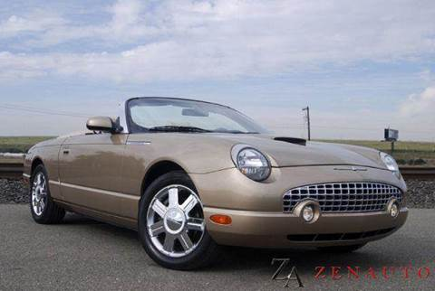 2005 Ford Thunderbird for sale at Zen Auto Sales in Sacramento CA