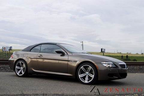 2008 BMW M6 for sale at Zen Auto Sales in Sacramento CA