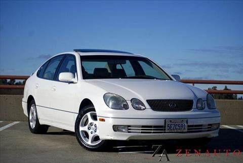 2000 Lexus GS 400 for sale at Zen Auto Sales in Sacramento CA