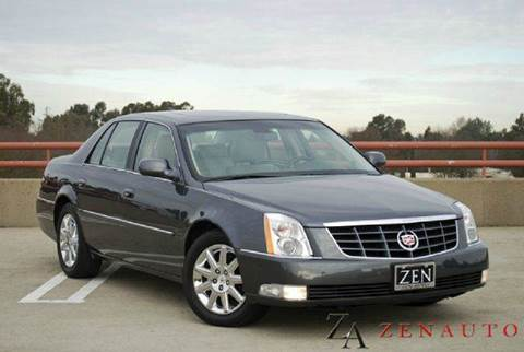2010 Cadillac DTS for sale at Zen Auto Sales in Sacramento CA