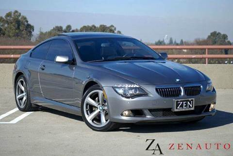 2009 BMW 6 Series for sale at Zen Auto Sales in Sacramento CA