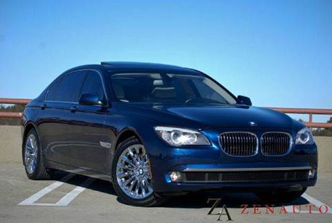 2011 BMW 7 Series for sale at Zen Auto Sales in Sacramento CA