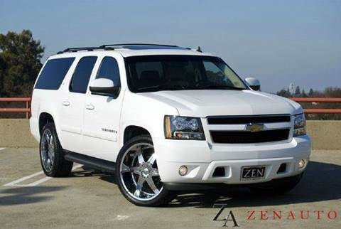 2007 Chevrolet Suburban for sale at Zen Auto Sales in Sacramento CA
