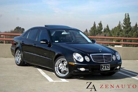 2008 Mercedes-Benz E-Class for sale at Zen Auto Sales in Sacramento CA