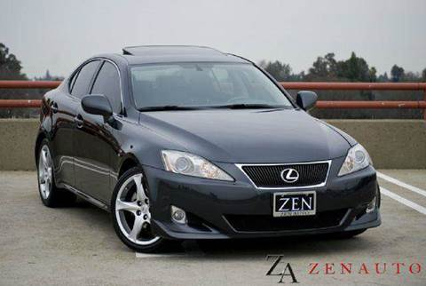 2007 Lexus IS 250 for sale at Zen Auto Sales in Sacramento CA