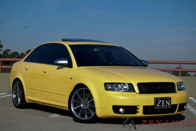2004 audi s4 b6 sport quattro awd in sacramento ca zen. Black Bedroom Furniture Sets. Home Design Ideas