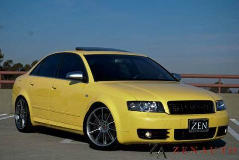 2004 Audi S4 for sale at Zen Auto Sales in Sacramento CA