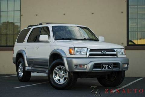 1999 Toyota 4Runner for sale at Zen Auto Sales in Sacramento CA