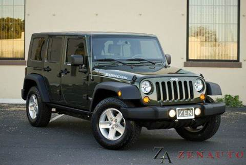2008 Jeep Wrangler for sale at Zen Auto Sales in Sacramento CA