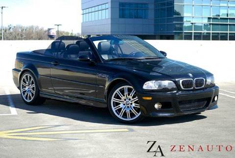 2004 BMW M3 for sale at Zen Auto Sales in Sacramento CA