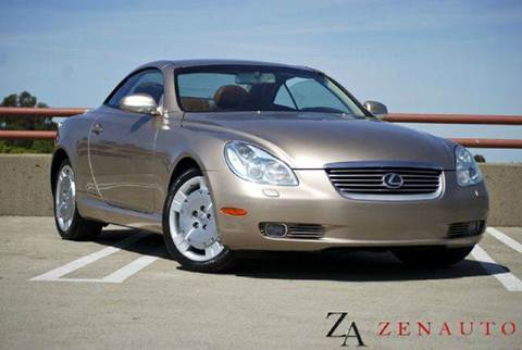 2003 Lexus SC 430 for sale at Zen Auto Sales in Sacramento CA