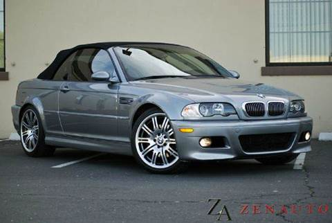 2003 BMW M3 for sale at Zen Auto Sales in Sacramento CA
