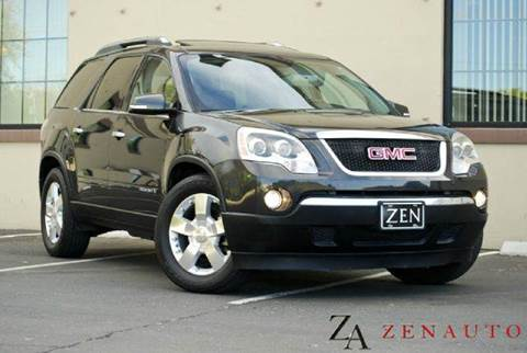 2007 GMC Acadia for sale at Zen Auto Sales in Sacramento CA