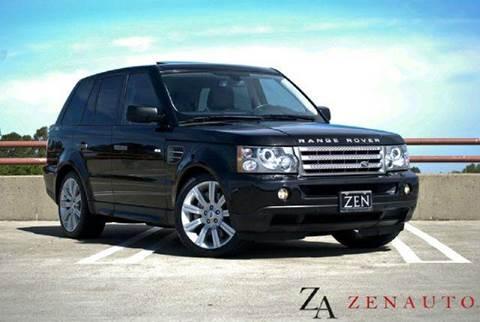 2009 Land Rover Range Rover Sport for sale at Zen Auto Sales in Sacramento CA