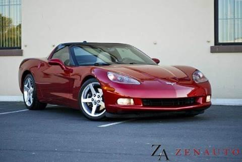 2005 Chevrolet Corvette for sale at Zen Auto Sales in Sacramento CA